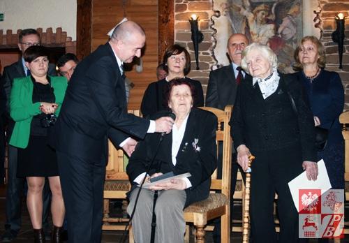 Por. Anna Surowicz dziękuje za pamięć o kombatantach AK na Białorusi