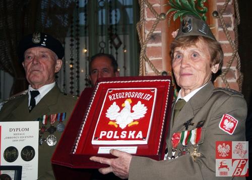 Prezes Stowarzyszenia ŻAK z Darem Straży Granicznej RP