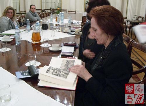 Białoruś na konferencji reprezentowała między innymi wiceprezes Polskiej Macierzy Szkolnej na Białorusi Teresa Kryszyń
