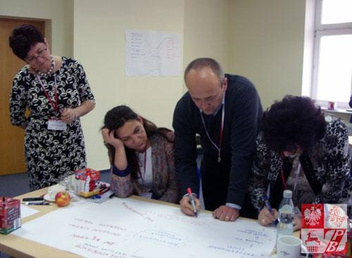 Uczestnicy konferencji podczas szkoleń