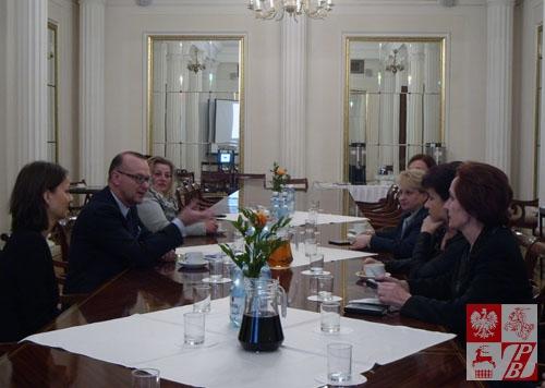 Podczas otwarcia konferencji w Domu Polonii w Warszawie