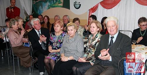 Podczas spotkania jubilatów