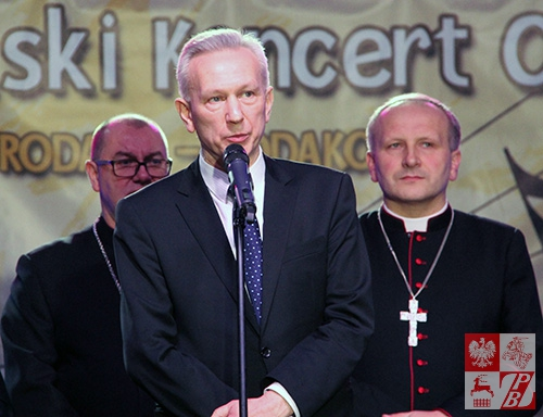 Przemawia senator Stanisław Gogacz