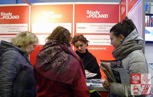 Anna Melnyk z Uniwersytetu Jagiellońskiego udziela informacji o możliwości studiowania w Polsce