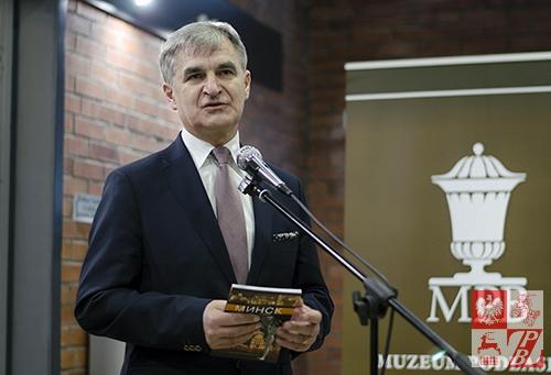 Przemawia Bogdan Dyjuk, członek Zarządu Województwa Podlaskiego