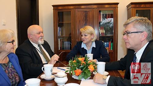 Podczas rozmowy o Polakach na Białorusi