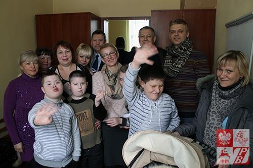 Zdjęcie pamiątkowe uczestników spotkania w Lidzie