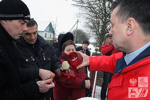 Paweł Kmiecik i Mieczysław Jaśkiewicz w Kulbakach