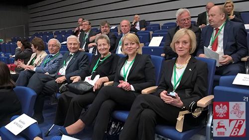 Andżelika Borys na wśród reprezentantów Polonii i Polaków za granicą