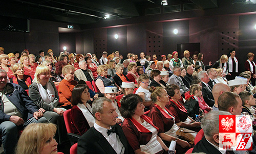 Publicznośc podczas przeglądu konkursowego