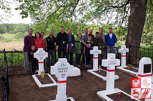 Zdjęcie pamiątkowe uczestników akcji