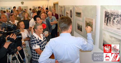 Podczas wernisażu wystawy