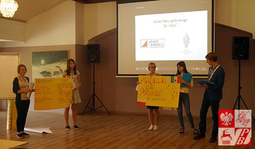Swój projekt prezentują młodzi Polacy z Mołdawii