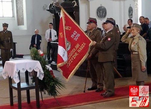 Uroczystościz okazji Dnia Wojska Polskiego w Bazylice NMP w Krzeszowie