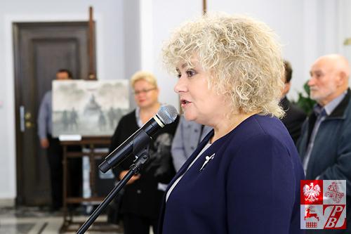 Wicemarszałek Senatu RP Maria Koc