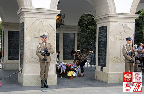Warta Honorowa przy Grobie Nieznanego Żołnierza