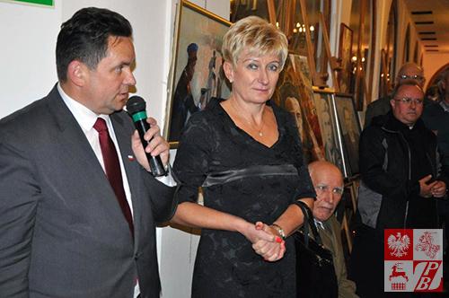 Przemawia Michał Kisiel, dyrektor Domu Polonii w Pułtusku
