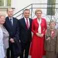 Delegacja ZPB na uroczystościach majowych w Belwederze (FOTOREPORTAŻ)