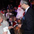 Zabawa noworoczna dla dzieci w Mińsku z darami z Opola