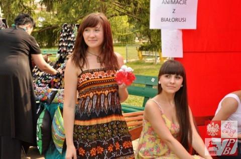 Stoisko białoruskie na Festiwalu EtnoPraga