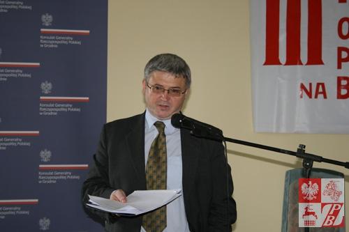Leszek Szerepka, ambasador RP