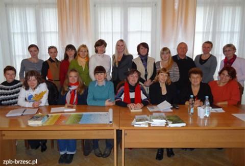 Nauczyciele języka polskiego z obwodu brzeskiego
