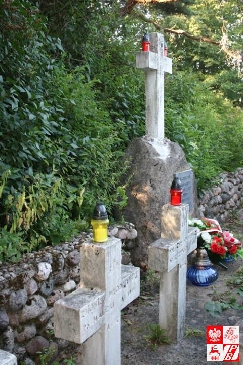 Kwatera żołnierzy AK, poległych w walkach z oddziałami litewskimi