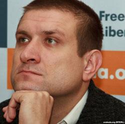 Aleś Paszkiewicz, fot.: svaboda.org