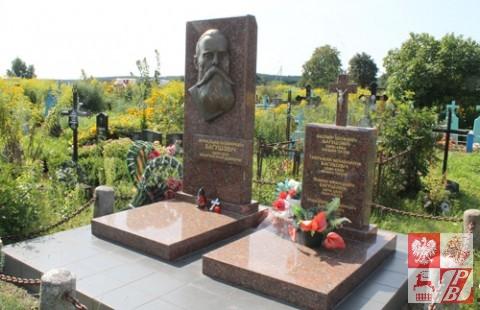 Mogiła poety Franciszka Boguszewicza, uczestnika powstania styczniowego