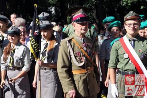 Przy Pomniku Katyńskim