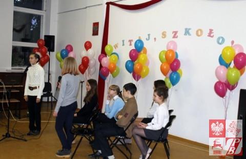 Uczniowie szkoły demonstrowali zdolności artystyczne