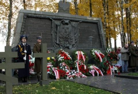 Obchody 70 rocznicy bitwy pod Lenino, foto: Włodzimierz Pac, Polskie Radio