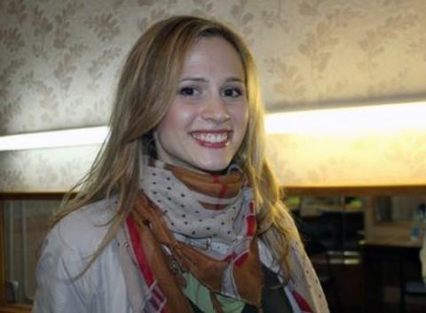 zdobywczyni Grand Prix II edycji Festiwalu Piosenki im. Anny German Nadzieja czarednik, fot.: zhodinonews.by