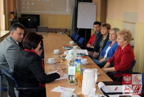 Podczas spotkania w Świetokrzyskim Ośrodku Doskonalenia Nauczycieli