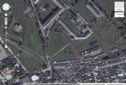 Współczesne zdjęcie z satelity