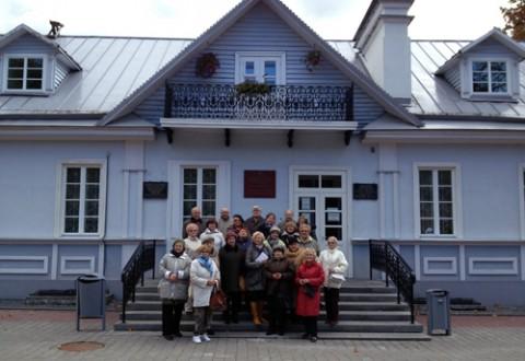 Przy domku Elizy Orzeszkowej w Grodnie