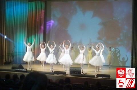 Występ zespołu tanecznego