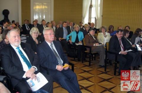 Delegaci Rady Polonii Świata podczas obrad