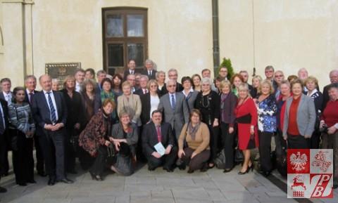 Pamiątkowe zdjęcie delegatów Rady Polonii Świata