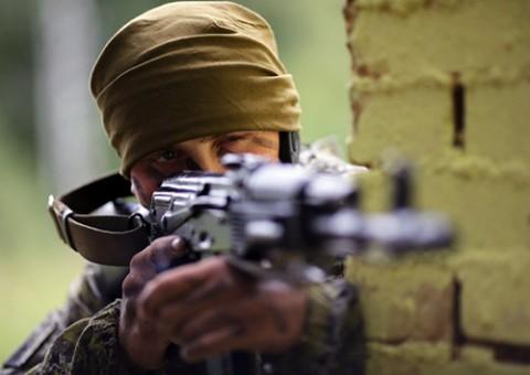 Podczas ćwiczeń antyterrorystycznych na manewrach Zapad 2013, fot.: fedpress.ru