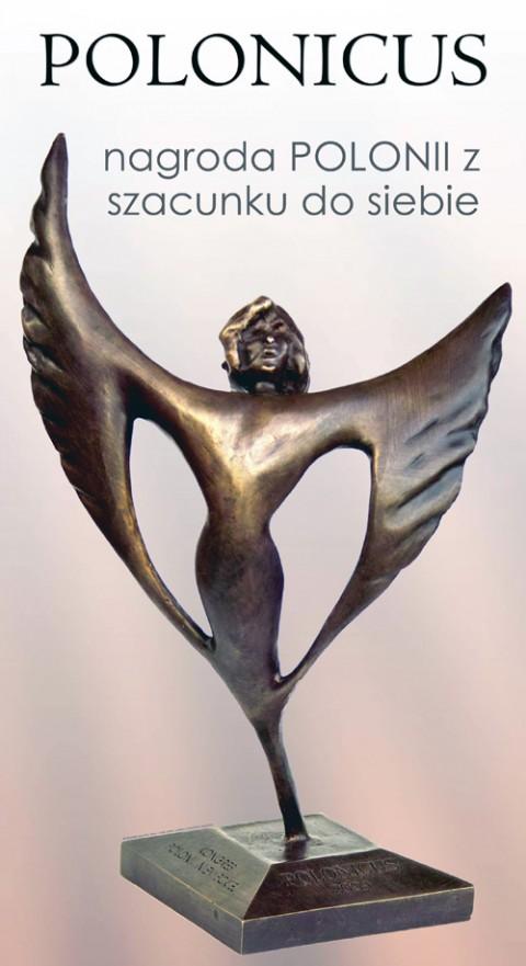 Statuetka POLONICUS, fot.: www.institut-polonicus.eu