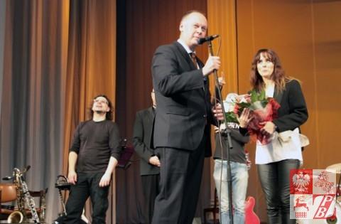 Przemawia Andrzej Chodkiewicz