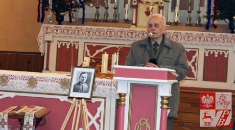"""żołnierz oddziału """"Krysi"""", płk. Tadeusz Bieńkowicz"""