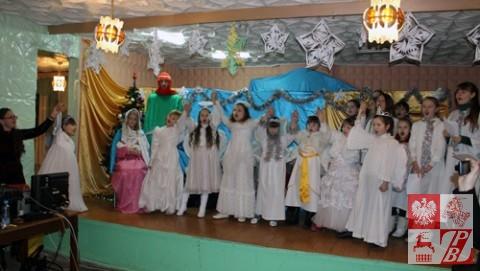 Jasełka w wykonaniu dzieci z Lidy