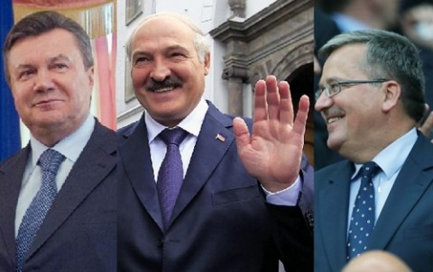 Janukowicz_Lukaszenko_Komarowski