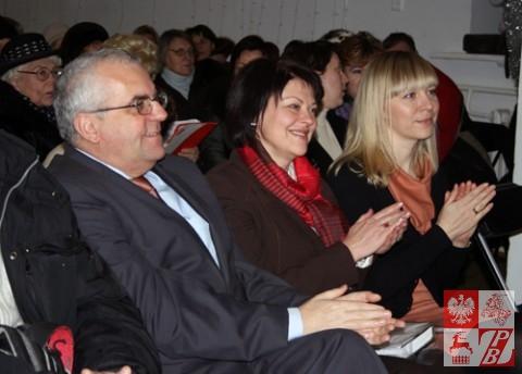 Adam Lipiński, Andżelika Borys, Helena Dubowska
