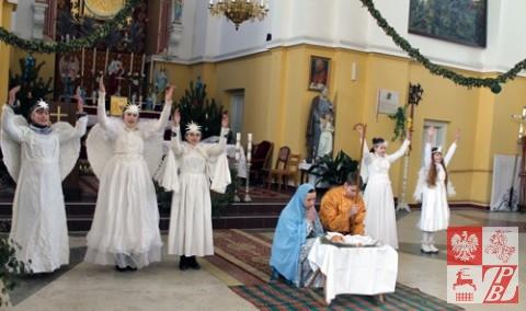 Aniołowie obwieszczają Narodziny Zbawiciela
