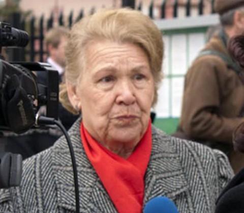 Józefa Myszkowska, prezes Stowarzyszenia Polaków na Krymie, fot.: opk.at.ua
