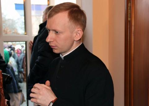 Ksiądz  Jerzy Biegański, kapelan szpitala w Lidzie, fot.: grodnensis.by