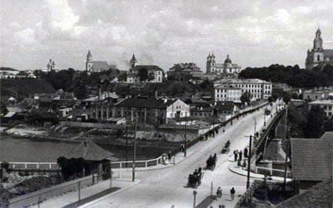 Grodno w 1938 roku, fot.: Creative Commons CC0 1.0 Universal Public Domain Dedication